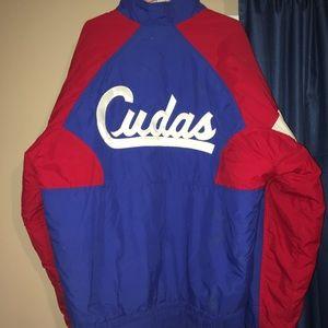 Vintage Neff Cudas Red White Blue Jacket